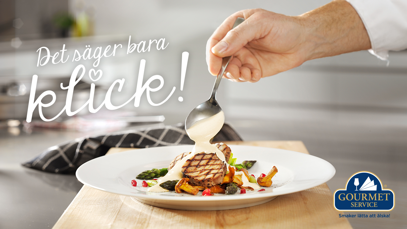 Gourmetservice: Annonser, banners