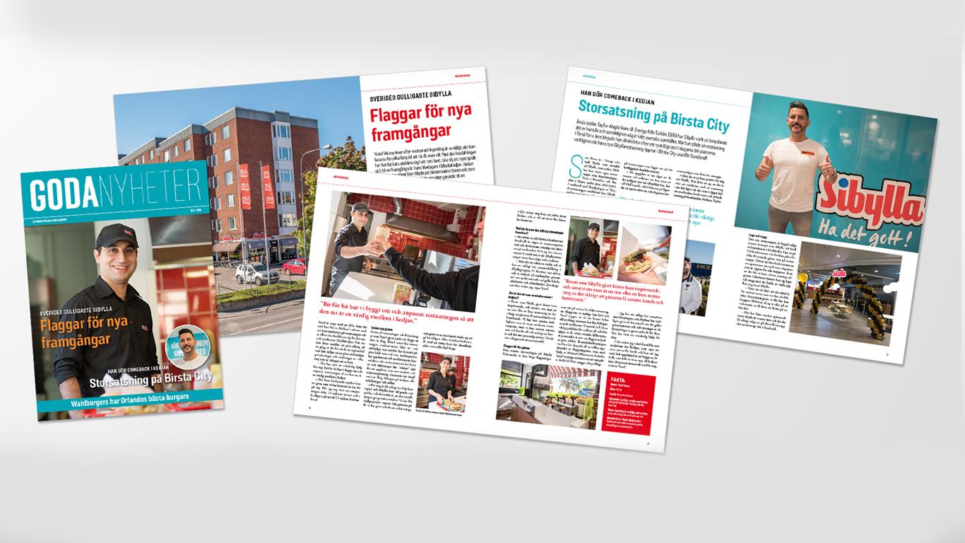 Sibylla: Informationstidning till franchisetagare