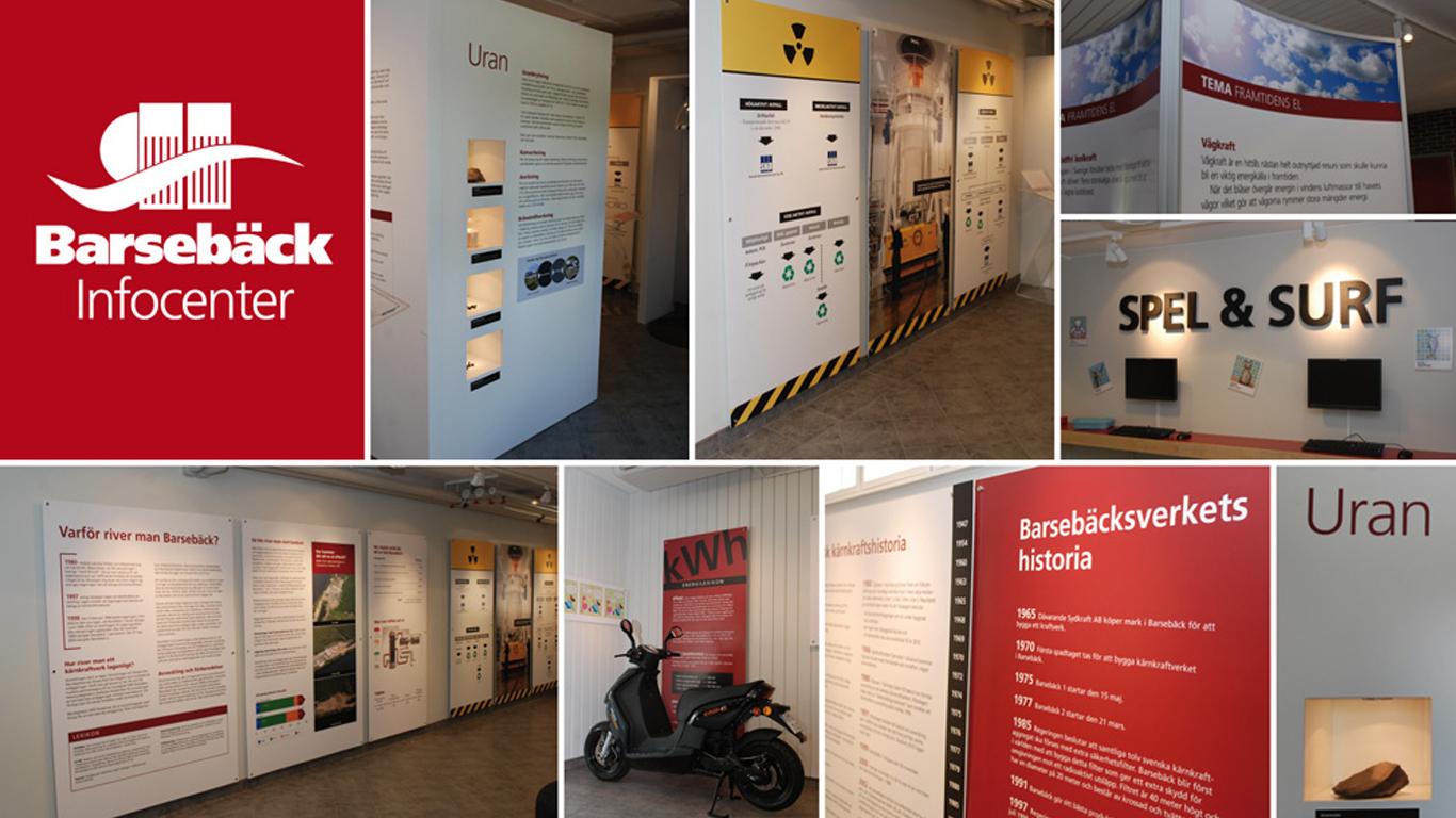 Barsebäcks Kärnkraftverk: Utställning om Baresbäcks historia