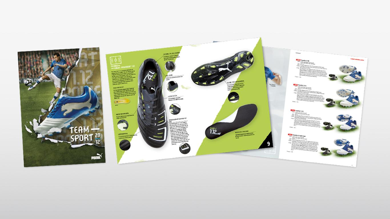 Puma: Produktkatalog, annonser, banners