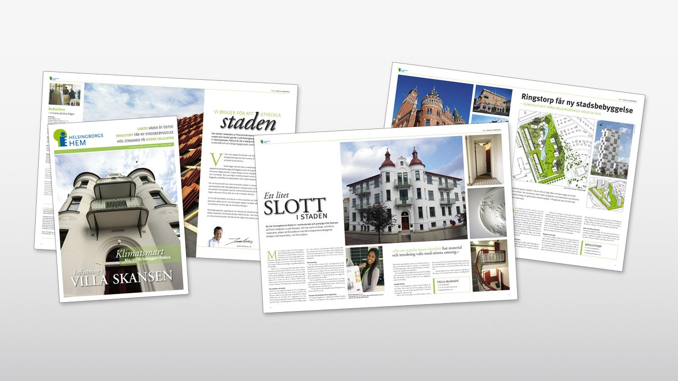 Helsingborgshem: Informationstidning